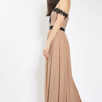**Bardot Sweetheart Maxi Dress by Rare | Topshop