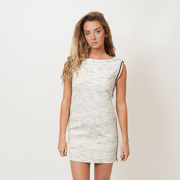 French Connection - Stretch Zip Sleeveless Dress