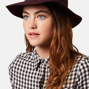 Topshop 'New Clean Edge' Wool Fedora | Nordstrom