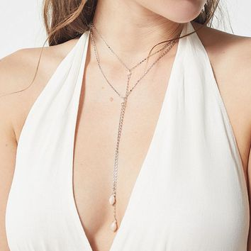 8 Other Reasons Likely Lariat Necklace   Urban Outfitters