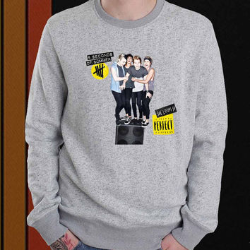 5SOS she looks so perfect sweater Sweatshirt Crewneck Men or Women Unisex Size