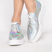 hologram brogue shoes - Shop the latest Fashion Trends
