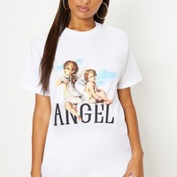 White Cherub T Shirt