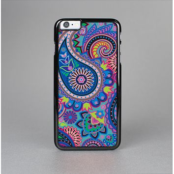 The Bold Colorful Paisley Pattern Skin-Sert for the Apple iPhone 6 Skin-Sert Case