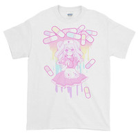 Medicine Girl Rainbow Short-Sleeve T-Shirt - 4 Colorways - MADE TO ORDER