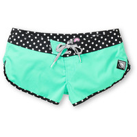 Volcom Girls Sparrow 3 Mint Board Shorts at Zumiez : PDP