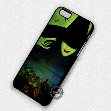 Green Faced Lady Witch Wicked Musical - iPhone 7 6 5 SE Cases & Covers