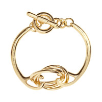 H&M - Bangle Bracelet - Gold - Ladies