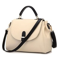 Fashion Candy Color Handbag Cross Body Bag Shoulder Bag