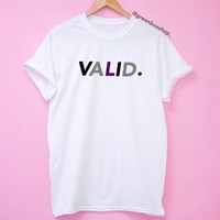 Asexual Pride VALID. Shirt