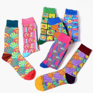 Trippy Unisexual Neon Socks