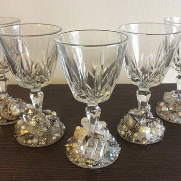 Bling Port Glasses (set of 5)