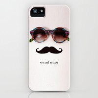 je m'en fous iPhone & iPod Case by Basilique