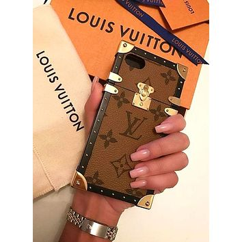 LOUIS VUITTON 2018 Hot ! iPhone 8 iPhone 8 Plus iPhone X - Stylish Cute On Sale Hot Deal Matte Couple Phone Case For iphone 6 6s 6plus 6s plus iPhone 7 iPhone 7 plus