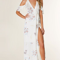 Time Away Wrap Maxi Dress