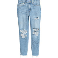 Mom Jeans Trashed - from H&M
