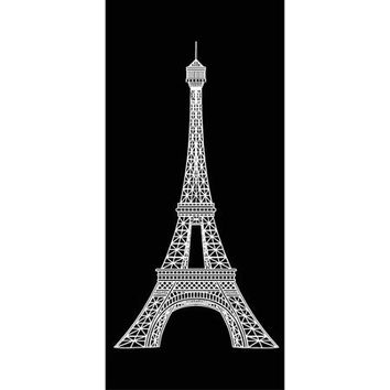 Mainstays Print Beach Towel, Eiffel Tower - Walmart.com