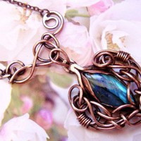 Wire Wrapped jewelry by Katerina Slivka.