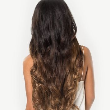 "Seamless Ombre Chestnut #T1C6 - 20"" (180g)"