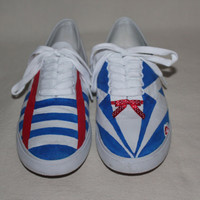 One Direction Larry Stylinson Shoes by ShoesByDaynnns on Etsy