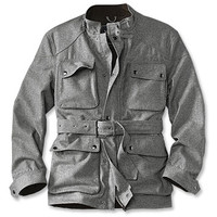 Gray Motorcycle Jacket