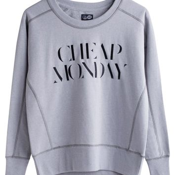 Naomi embroidery sweat | All Categories | Weekday.com