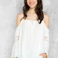 Atwood Cold Shoulder Top