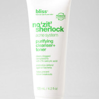 Bliss No Zit Sherlock Purifying Cleanser + Toner