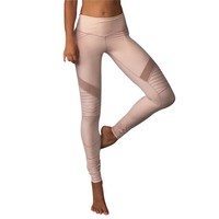 High Waist Lace Patchwork Yoga Pants Sports Leggings [11475711878]