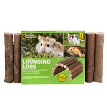 National Geographic™ Lounging Log Small Animal Hideout | Toys & Habitat Accessories | PetSmart