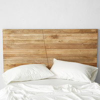 Angled Wood Headboard | Urban Outfitters