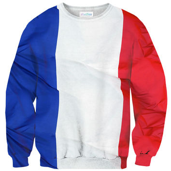French Flag Sweater