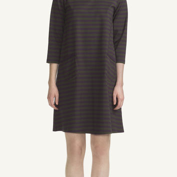 TIIA MARIMEKKO DRESS PLUM/DARK GREEN