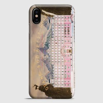 The Grand Budapest Hotel iPhone X Case