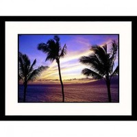 Great American Picture Maui Sunset Framed Photograph - Mark Polott - IS1033447 - Decor