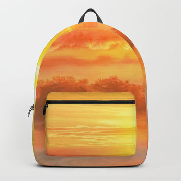 Sunset before Backpack by exobiology