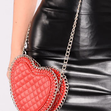 Sweetheart Crossbody - Red