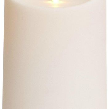 """Luminara 5"""" Outdoor Candle with Soft-Touch Coating"""