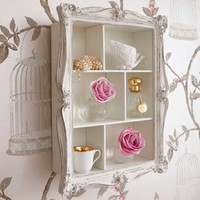 Arthouse Cluster Wall Shelves in White