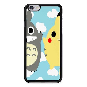 Totoro And Pikachu iPhone 6/6s Case
