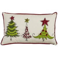 Holiday Trees Pillow$29.95