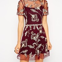 Needle & Thread Embellished Blossom Dress