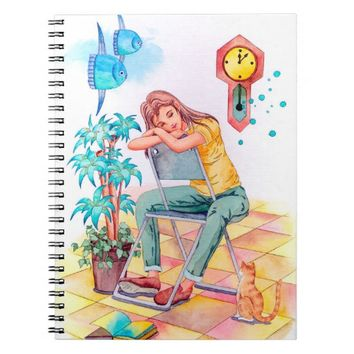 Rest time notebook