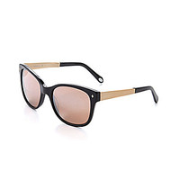 Fossil Retro Cateye Sunglasses - Black