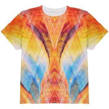 Explore Strange New Worlds All Over Youth T Shirt
