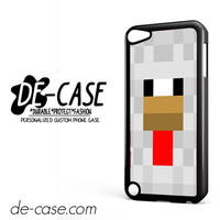 Minecraft White DEAL-7289 Apple Phonecase Cover For Ipod Touch 5
