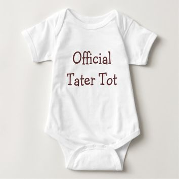 Official Tater Tot Baby Bodysuit