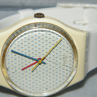 1986 Ping Pong Swiss SWATCH GW105 Spring Summer Collection Watch