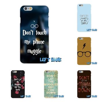 For Huawei G7 P8 P9 p10 Lite 2017 Honor 5X 5C 6X Mate 7 8 9 Y3 Y5 Y6 II Harry Potter Don't Let The Muggles Soft Case Silicone