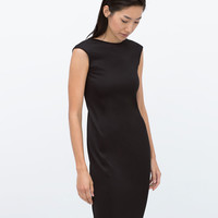 Mid-length tailored dress